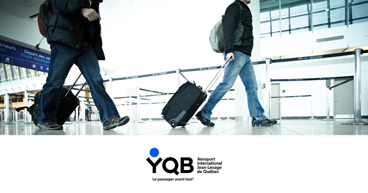 Accueil aéroport international jean lesage de québec yqb